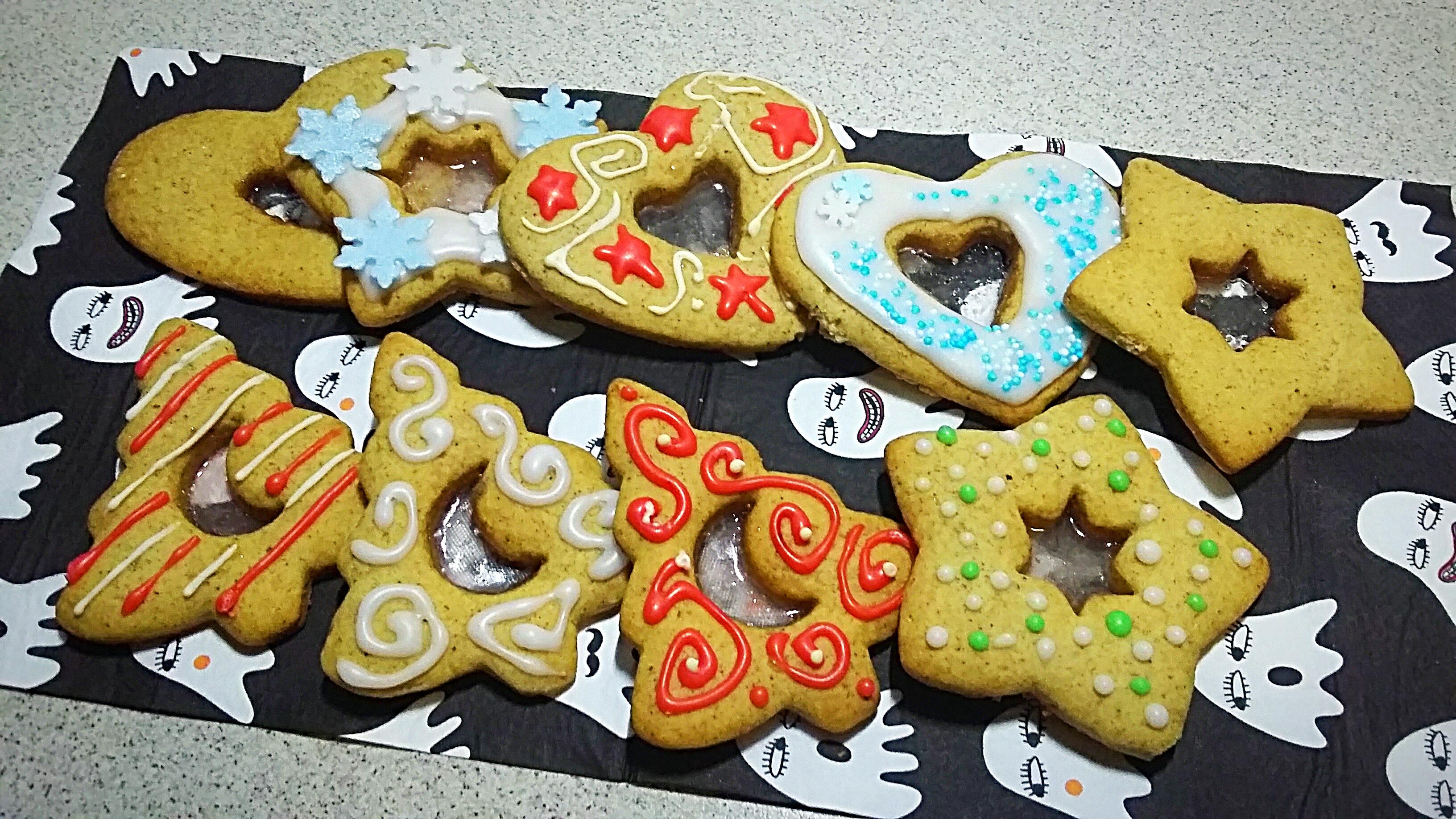 Biscotti Di Natale Effetto Vetro.Biscotti Di Vetro Alla Cannella Elisweet